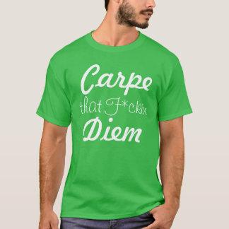 T-shirt Carpe qui pièce en t de F*kin Diem pour les hommes
