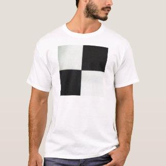 T-shirt Carré quatre par Kazimir Malevich