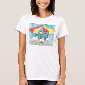 T-shirt Carrousel américain de chien esquimau