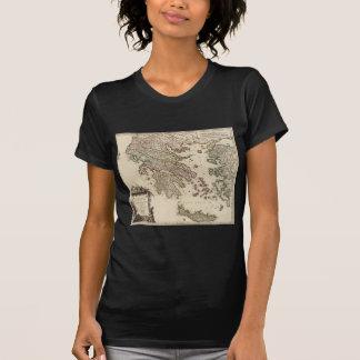 T-shirt Carte 1752 de la Grèce antique
