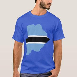 T-shirt Carte de drapeau du Botswana