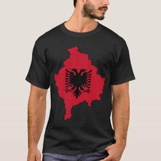 T-shirt Carte de Kosovo