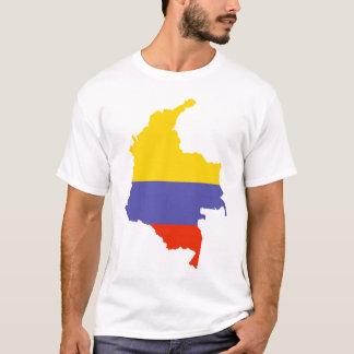 T-shirt Carte de la Colombie