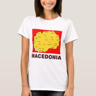 T-shirt Carte de Macédoine