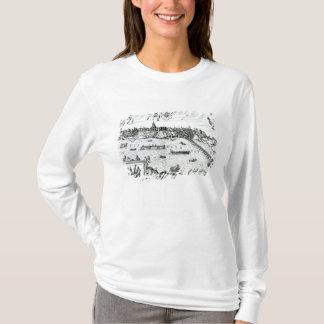 """T-shirt Carte de Varsovie, de """"Civitates Orbis Terrarum"""""""