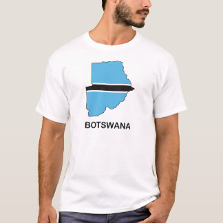T-shirt Carte du Botswana