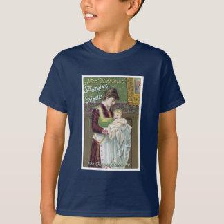T-shirt Carte du commerce de sirop calmant de Mme