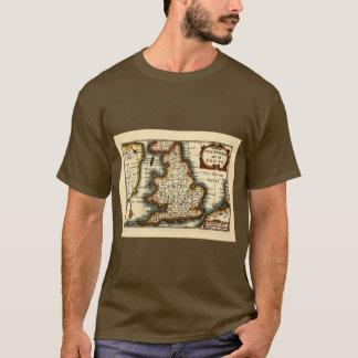 """T-shirt Carte du comté de """"Lancaster"""" Lancashire"""