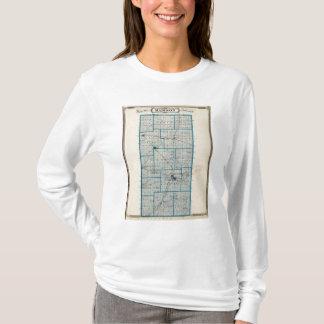 T-shirt Carte du comté de Madison