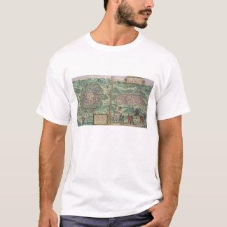 T-shirt Carte du Mexique et du Cuzco, de 'Civitates Orbis