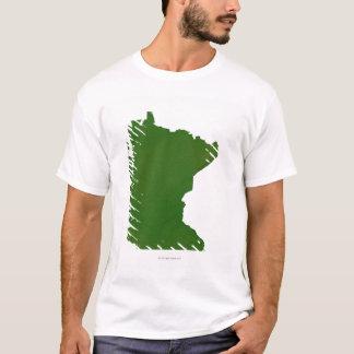 T-shirt Carte du Minnesota 2