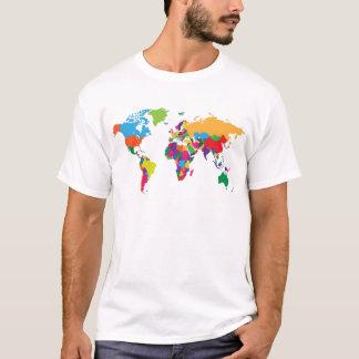 T-shirt Carte du monde