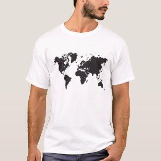 T-shirt carte noire du monde