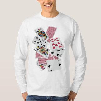 T-shirt Cartes de jeu - jeu à gagner - charmes chanceux