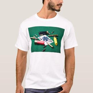 T-shirt Cartes et balles de jeu