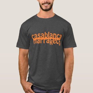 T-shirt Casablanca Marrakech