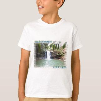 T-shirt Cascade pittoresque de la Virginie Occidentale