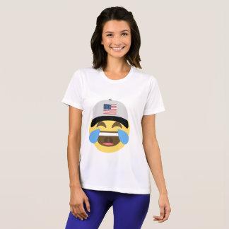 T-shirt Casquette de baseball des Etats-Unis Emoji