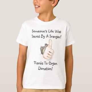 T-shirt Casquette de donateur d'organe