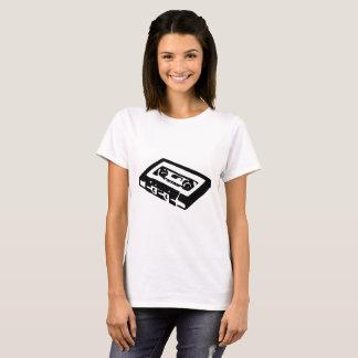 T-shirt Cassette audio
