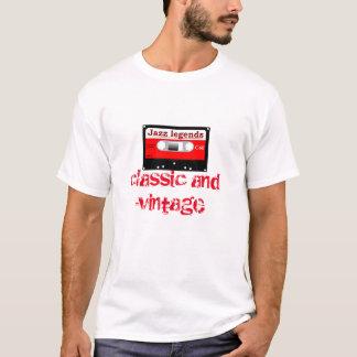 T-shirt Cassette compacte de jazz