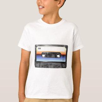 T-shirt Cassette de lever de soleil d'océan