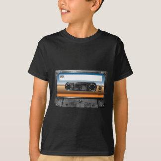 T-shirt Cassette d'étiquette d'horizon de désert