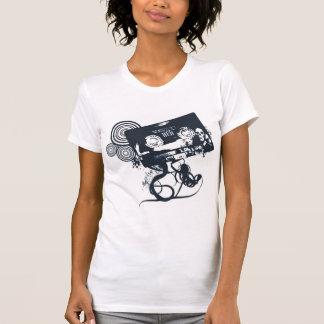 T-shirt Cassette géniale de vecteur