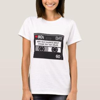 T-shirt CASSETTE LOVE 80´s