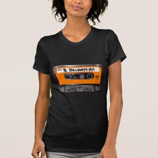 T-shirt Cassette orange des années 80 d'étiquette