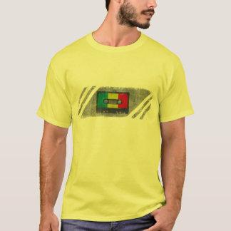T-shirt Cassette urbaine de raggae