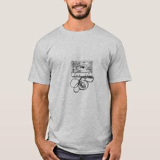 T-shirt Cassette vintage