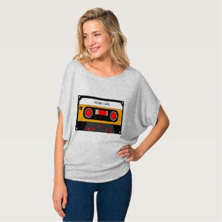 T-shirt Cassette vintage des années 80