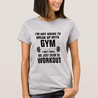 T-shirt Cassez avec la chemise drôle de séance
