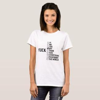 T-shirt Cassez-vous