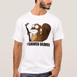 T-shirt Castor rasé
