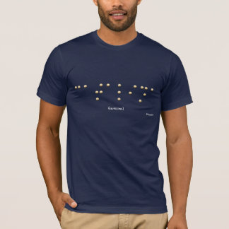 T-shirt Catalina dans le braille