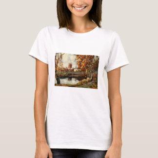 T-shirt Cathédrale de la promenade de rivière, Hereford,