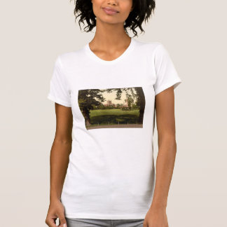T-shirt Cathédrale de vert de château, Hereford,