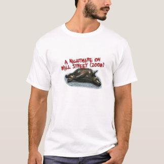 T-shirt Cauchemar de Wall Street
