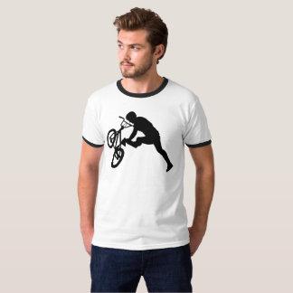 T-shirt Cavalier de BMX