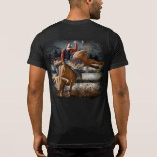 T-shirt Cavalier de Taureau de rodéo,