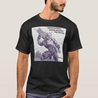 T-shirt CD de KEITH PATRICK EN SOLO - customisé -