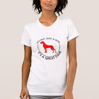 T-shirt Ce n'est pas simplement un chien