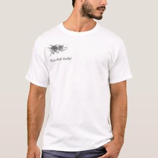 T-shirt Ce poussin tricote !