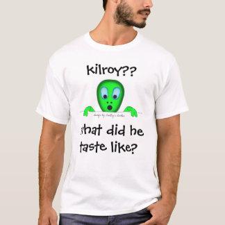 T-shirt ce qui est arrivé à kilroy