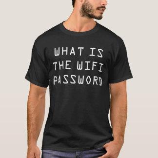 T-shirt Ce qui est la chemise de mot de passe de wifi