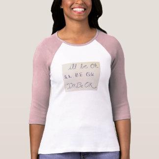 T-shirt Ce sera pièce en t CORRECTE de base-ball