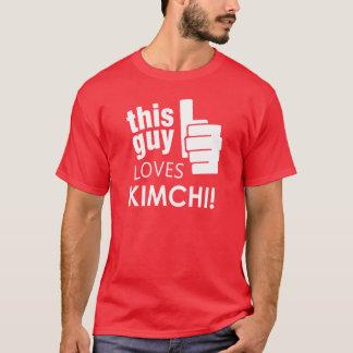 T-shirt Ce type aime Kimchi !