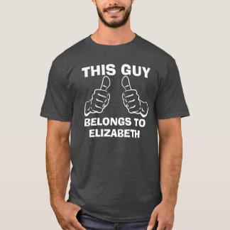 T-shirt Ce type appartient pour écrire la coutume nommée